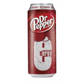 Dr. Pepper Energy 0,5 ltr