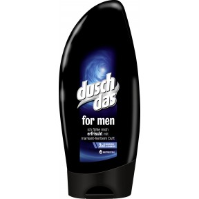 Duschdas 2 in 1 Duschgel & Shampoo For Men 250 ml