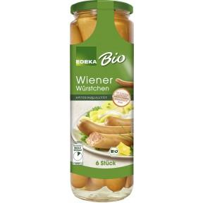 EDEKA Bio Wiener Würstchen 680 g
