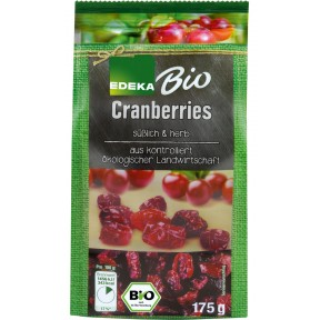 EDEKA Bio Cranberries