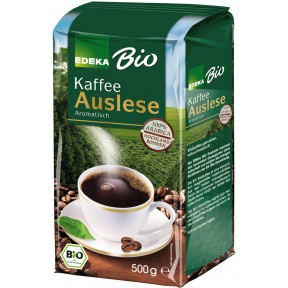 EDEKA Bio Auslese Kaffee gemahlen 500 g