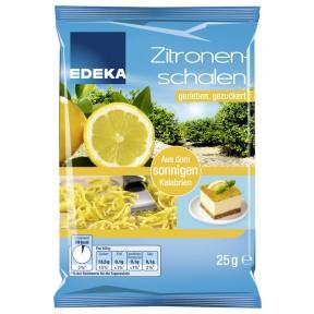 EDEKA Zitronenschale gerieben, gezuckert