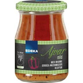EDEKA Ajvar Mild 340 ml
