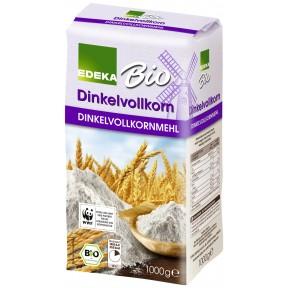 EDEKA Bio Dinkelvollkornmehl 1 kg