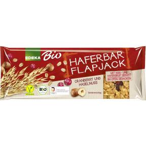 EDEKA Bio Haferbar Flapjack Cranberry und Haselnuss 60 g