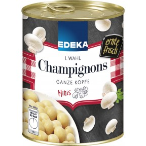 EDEKA Champignons Mini 1. Wahl ganze Köpfe