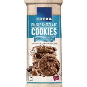EDEKA Double Chocolate Cookies 200 g
