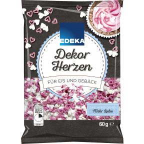 Edeka Dekor Herzen 60 g