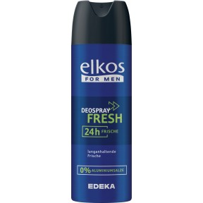 Elkos For Men Deospray Fresh 200 ml
