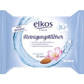 Elkos Face Reinigungstücher 3in1 25 Stück