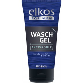 Elkos For Men Waschgel Aktivkohle 150 ml