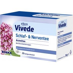 elkos VIVEDE Schlaf- & Nerventee 20x 1,75 g