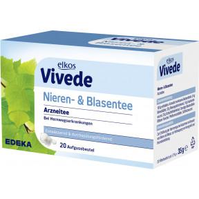 elkos VIVEDE Nieren- & Blasentee 20ST 35G