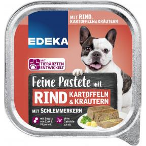 EDEKA Feine Pastete mit Rind, Kartoffeln & Kräutern Hundefutter nass 300G