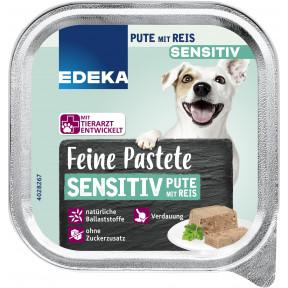 EDEKA Feine Pastete Sensitiv mit Pute & Reis 150G
