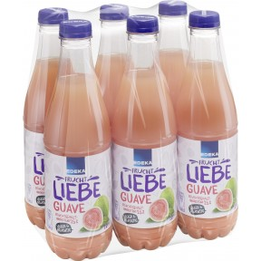 EDEKA Guaven-Nektar 25% 6x 1 ltr PET