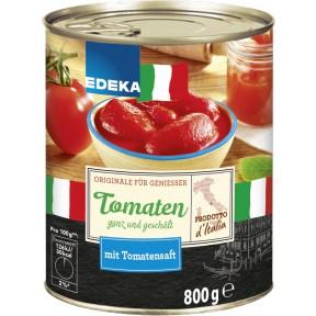 EDEKA Italia Geschälte Tomaten 800 g