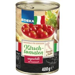 EDEKA Italia Kirschtomaten ungeschält in Tomatensaft
