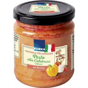 EDEKA Italia Pesto alla Calabrese pikant 190G