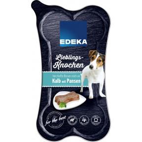 EDEKA Lieblingsknochen Kalb mit Pansen Hundefutter nass 175 g