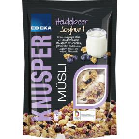 EDEKA Knusper Heidelbeere-Joghurt Müsli 500G