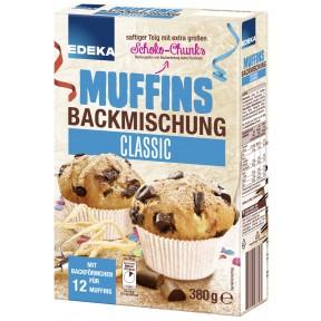 EDEKA Muffins Backmischung Classic