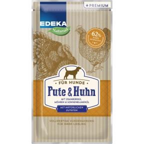 EDEKA Naturals Pute & Huhn Hundefutter nass 125 g