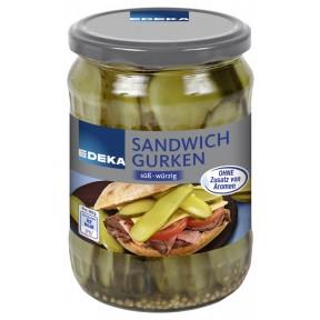 EDEKA Sandwich-Gurken