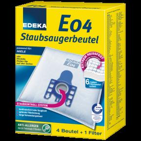 EDEKA Staubsaugerbeutel E04 4 Stück