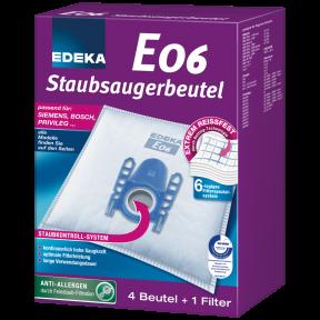 EDEKA Staubsaugerbeutel E06