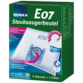 EDEKA Staubsaugerbeutel E07