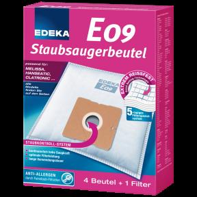 EDEKA Staubsaugerbeutel E09