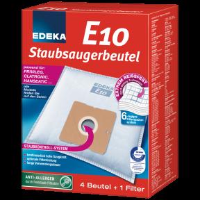 EDEKA Staubsaugerbeutel E10 4 Stück