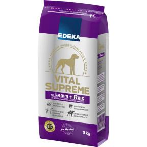 EDEKA Vital Supreme mit Lamm & Reis Hundefutter trocken 3KG