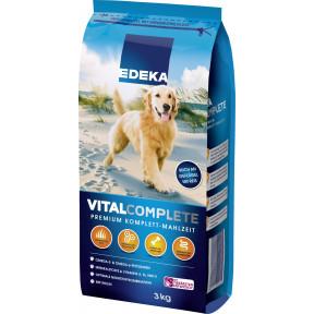 EDEKA Vitalcomplete Hundefutter trocken 3 kg