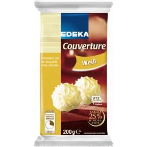 EDEKA Weiße Couvertüre