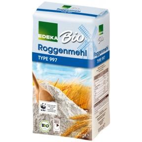 EDEKA Bio Roggenmehl Type 997 1 kg