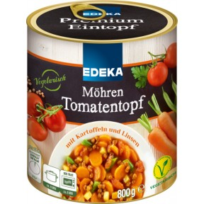 EDEKA Möhren Tomatentopf