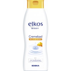 elkos Body Cremebad Milch & Honig