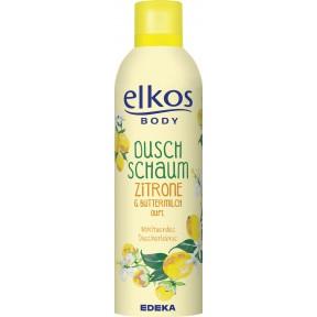 elkos Duschschaum Zitrone & Buttermilch Duft 200 ml