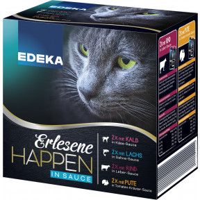 EDEKA Erlesene Happen in Sauce 8x 85G