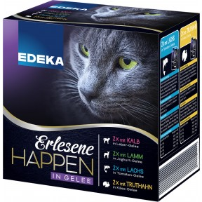 EDEKA Erlesene Happen in Gelee 8x 85G