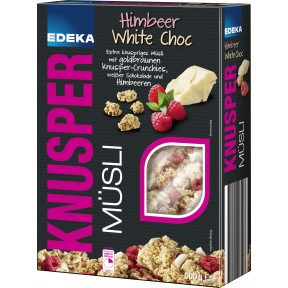 EDEKA Knusper Müsli Himbeer White Choc