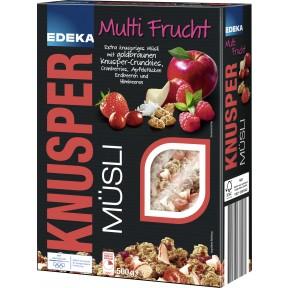 EDEKA Knusper Müsli Multi-Frucht