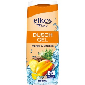 elkos Duschgel Mango + Ananas 0,3 ltr