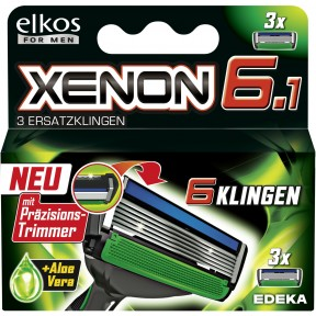 elkos for MEN Xenon 6.1 Ersatzklingen