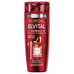 L'Oreal Elvital Color-Glanz Shampoo 0,3 ltr