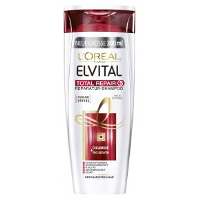 L'Oreal Elvital Total Repair Shampoo 0,3 ltr
