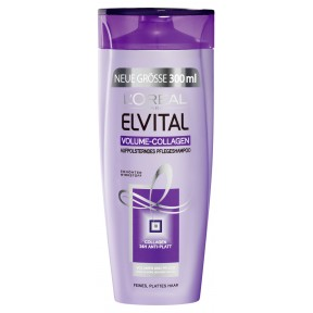 Elvital Volume-Collagen Aufpolsterndes Pflegeshampoo