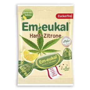 Em-eukal Hanf-Zitrone zuckerfrei 75G